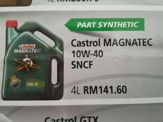 CASTROL Engine Oil 10w40 4L