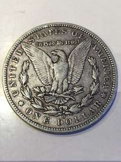 1900年 美國 One Dollar Liberty Head 大銀幣