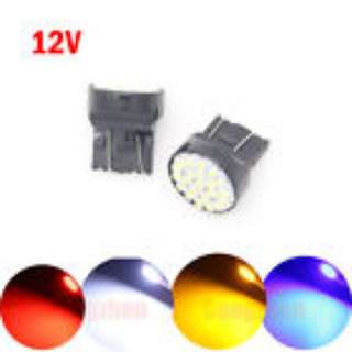 Yellow/Orange/Amber LED Light Bulb T20 7440 7443 580