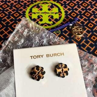 Tory Burch 耳環 (logo十字款)