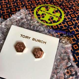 Tory Burch 耳環 (logo款)