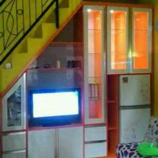 Custom model lemari kolong tangga