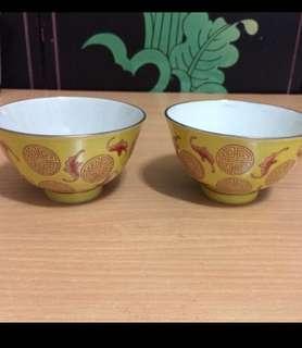 Vintage bowls