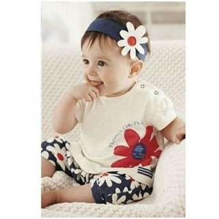 Baby set + headband