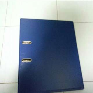 A4 Blue Ring File