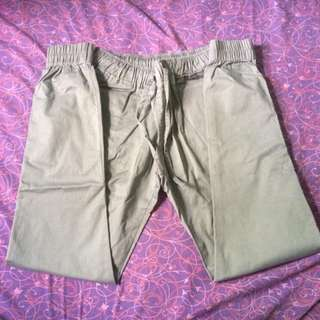 pants (abu abu dan cokelat)