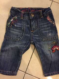 BABY GAP DENIM PANTS JEANS 12-18 mth