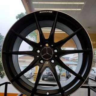 18 Inch 5x112 Mercedes AMG Rim