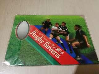 Hong Kong Post Stamp 香港郵政郵票套摺七人欖球新西蘭Rugby seven new zealand