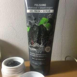 (Share in jar) Freeman Charcoal & Black Sugar Gel Mask