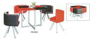 DINING TABLE SET CHAIR 1+4 - T803 C803
