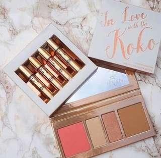 Kylie Koko (lip cream, bronzer, highlighter, blush on)