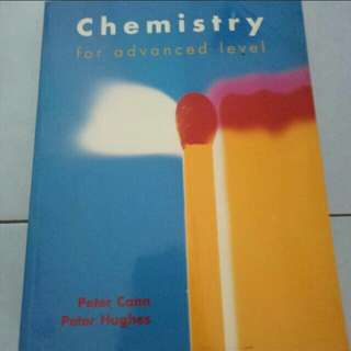 Peter Cann and Peter Hughes- Chemistry for Advanced Level