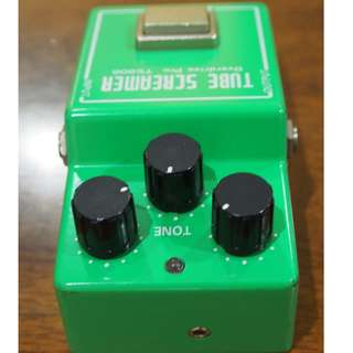 Made in Japan vintage Ibanez TS-808 Tube Screamer Overdrive guitar EFX pedal - power adapter included!