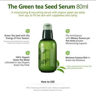 Innisfree Greentea Sead Serum 5ml