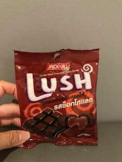 🚚 【預購】 泰國LUSH 爆漿巧克力軟糖22.4g