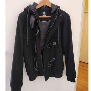 Mens Dangerfield Wool blend Coat Jacket
