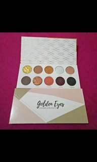 Eyeshadow Pallete Luxcrime Golden Eyes Murah