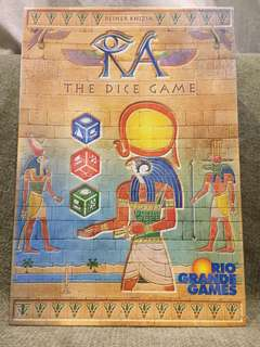 Ra The Dice Game - Board Game Langka Collector