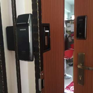 Samsung digital lock for door and gate with installation
