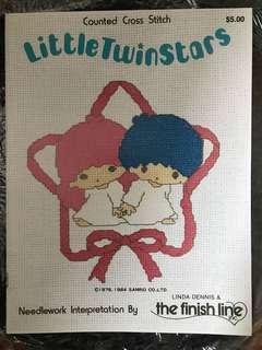 LittleTwinstars 珍藏版繡花書