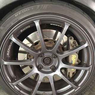 Mini Cooper Advan RS wheel 17 inch