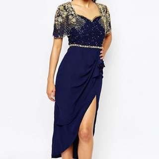 Virgos Lounge Laila Embellished Midi Dress
