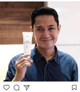 Erto's facial treatment ori