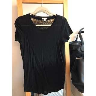 🚚 Gap 石洗布黑色短袖T桖《保證真品》