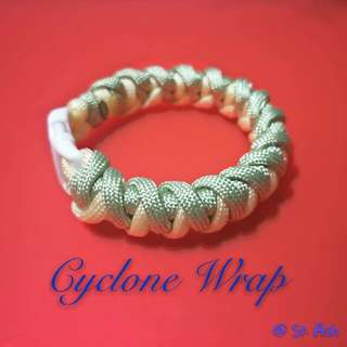 Paracord Bracelet - Cyclone Wrap