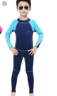 Thermal wetsuit .. Swimming suit...