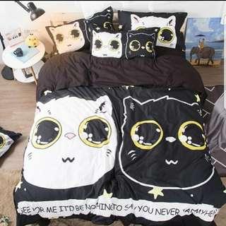 🐱🐾貓貓全棉床袋套😻🐺(5呎) (4款選擇)