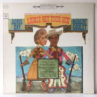 Doris Day And Robert Goulet ‎– Annie Get Your Gun (1963 USA Original - Vinyl is Excellent)