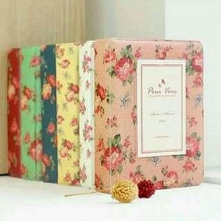 Floral 64 Slots Instax/Polaroid Album