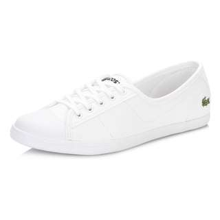 💯 Authentic Lacoste White Sneakers