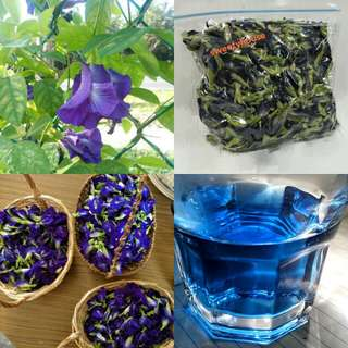 30g dry Butterfly pea