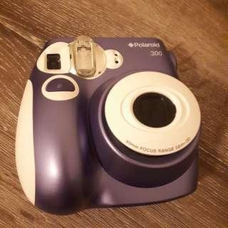 Purple Polaroid 300