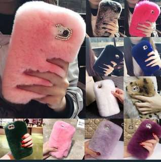 Fluffy iphone case's