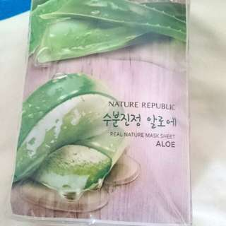 Nature Republic Aloe Sheet Mask