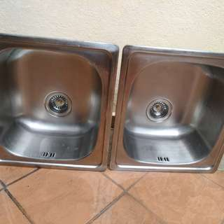 stainless steel sink single bolw
