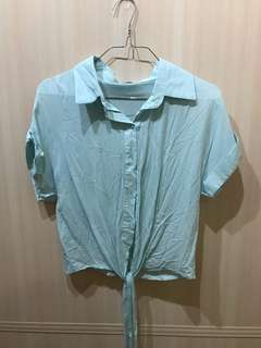 Cropped Blouse Top