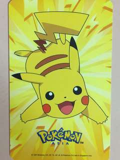 Limited Edition brand new Pikachu GV Design ezlink Card For $15.