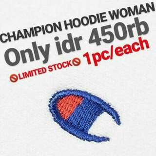 💥💥💥NEW STUFF💥💥💥 🔥Basic Hoodie Champion Logo(Woman)🔥