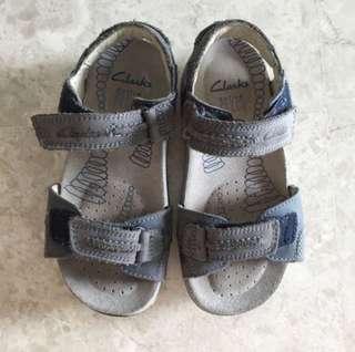 Boys Clark Active Air Sandals