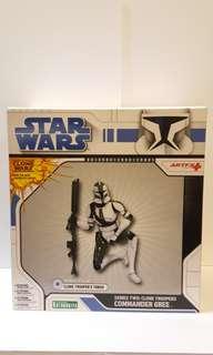 Star Wars : Series Two Clone Troopers Commander Gree