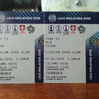 PKNS vs PERAK Liga Super