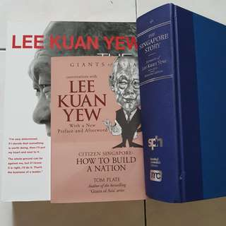 Books about Lee Kuan Yew & Singapore