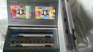 全新MTR 地鐵港鐵車厢模型