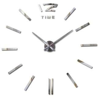 clock watch wall stickers clocks home decoration