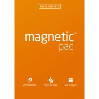 (A3 Pad / 50 sheets) MAGNETIC NOTES - Paper that Sticks on to Anything!